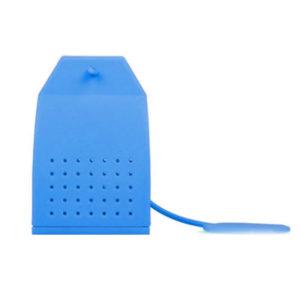 Sachet de thé en silicone Bleu 01