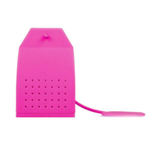 Silicone colorful tea bag | Pink