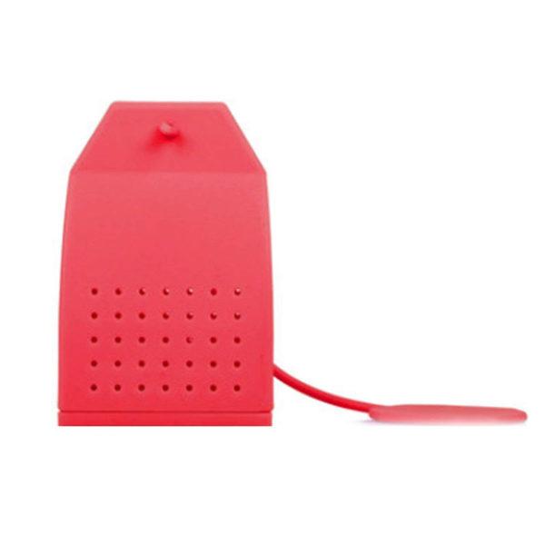 Sachet de thé en silicone Rouge 01