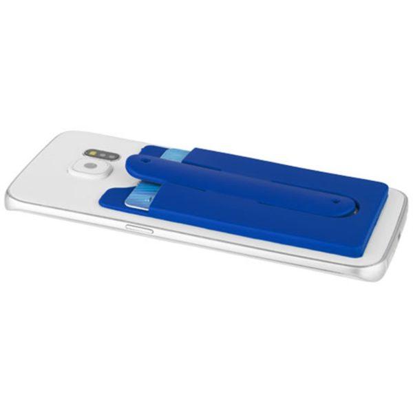 Support de téléphone et de cartes en silicone | Rose