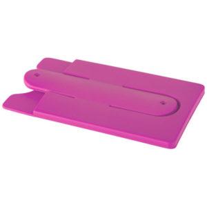 téléphone et de cartes en silicone rose 01