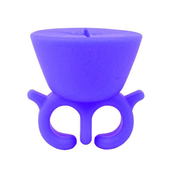Support de vernis à ongles_Violet 01