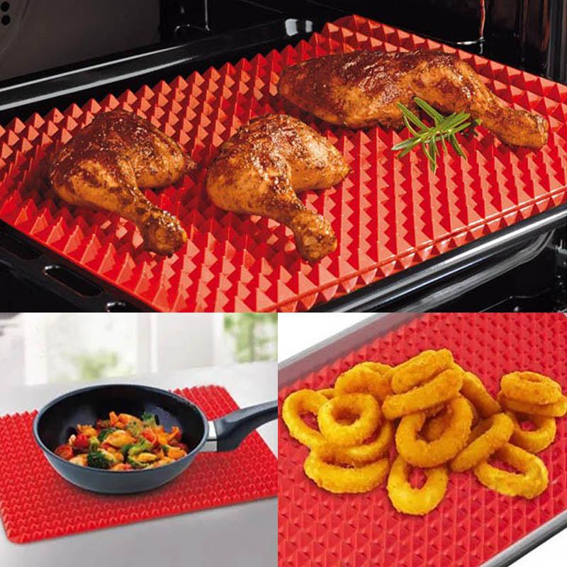 Smart Silicone Baking Mat Red Www Zunik Fr