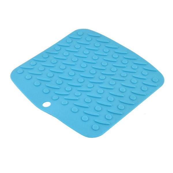 Tapis silicone multifonction Bleu-01
