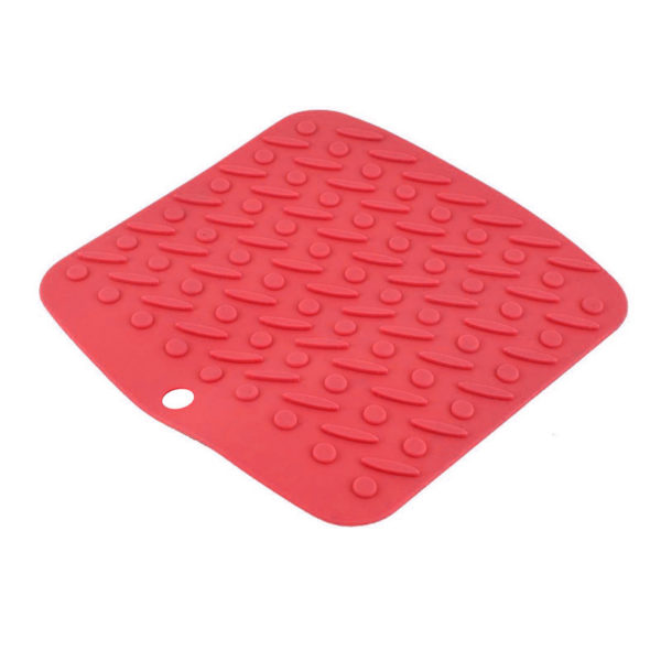 Multifunction silicone mat | Red