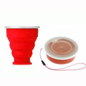 Verre compactable de poche Rouge 01