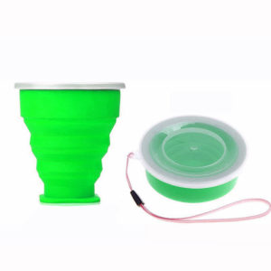 Verre compactable de poche Vert 01