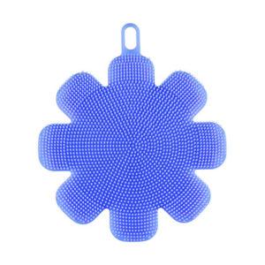 eponge-silicone-fleur-bleu 01