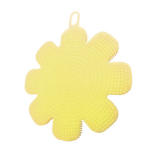 Magic silicone sponge Flower | Yellow