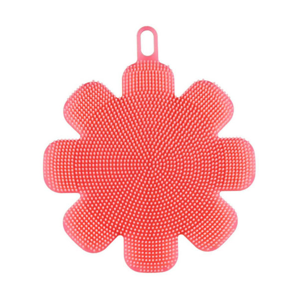 eponge-silicone-fleur-rouge 01
