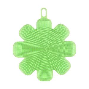 eponge-silicone-fleur-vert 001