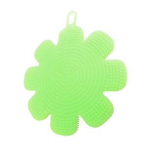eponge-silicone-fleur-vert 002