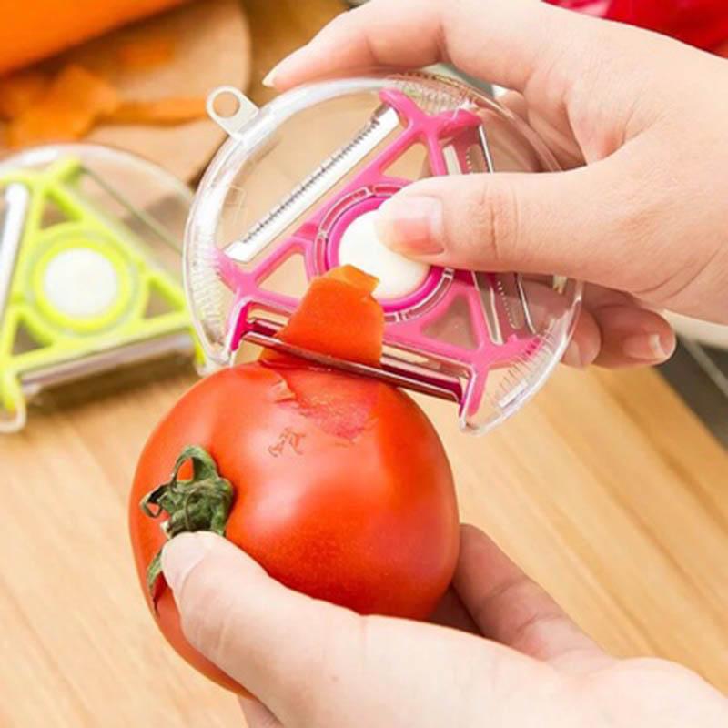 Nouveauté de la semaine : le multi-économe, un ustensile de cuisine très pratique !