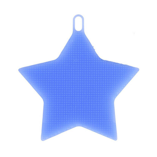 Magic silicone sponge Star | Blue