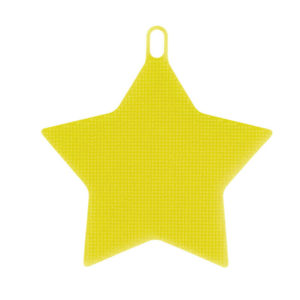 Magic silicone sponge Star | Yellow