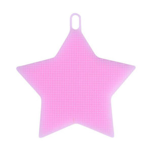 Magic silicone sponge Star | Pink