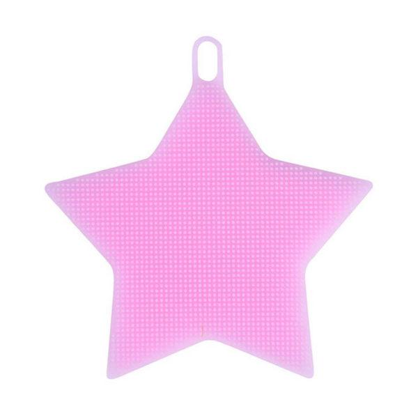 Magic silicone sponge Star | Pink