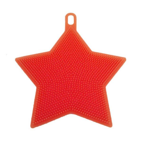 Magic silicone sponge Star | Red