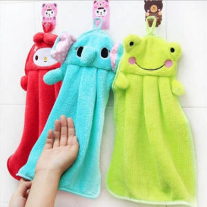 Adorable hand dry towel | Pink