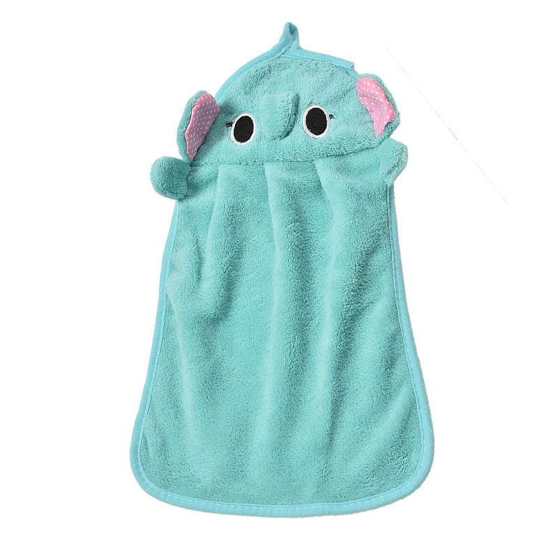 Adorable hand dry towel | Blue