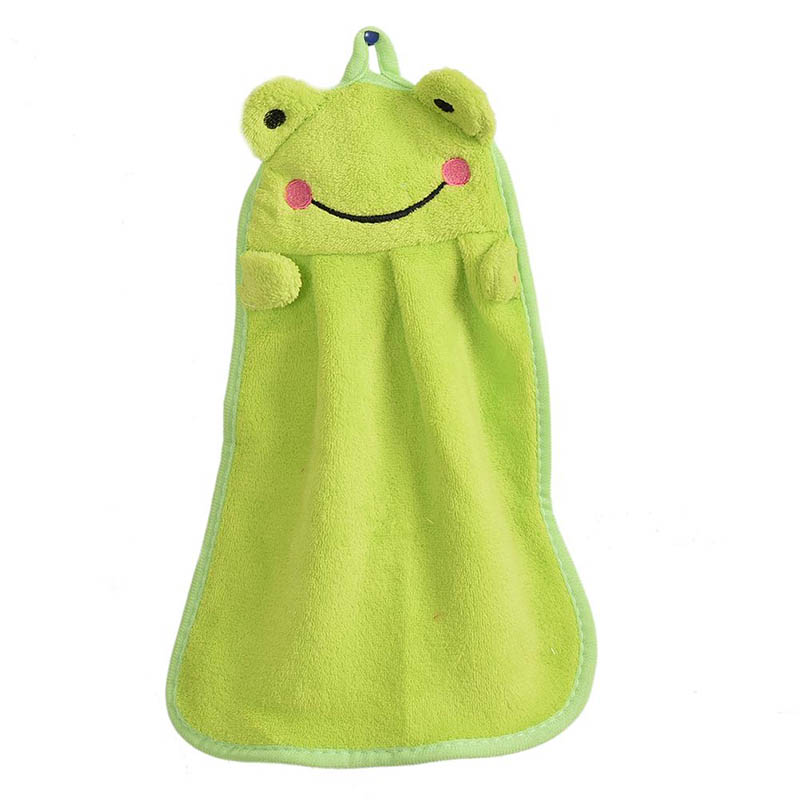 Adorable hand dry towel | Green