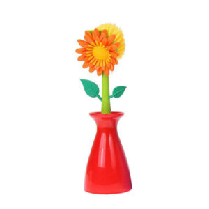 Flower Brush | Red