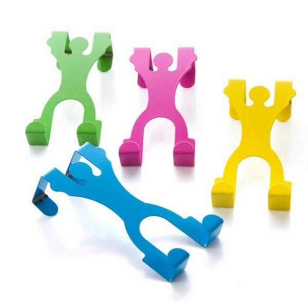 Colorful multifunctional hooks | Yellow