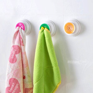 Colorful hook for towel | Green