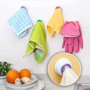 Colorful hook for towel | Pink