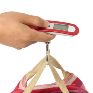 Pocket electronic luggage scale | Red