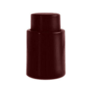 Bouchon coloré vide d'air Bordeaux 01