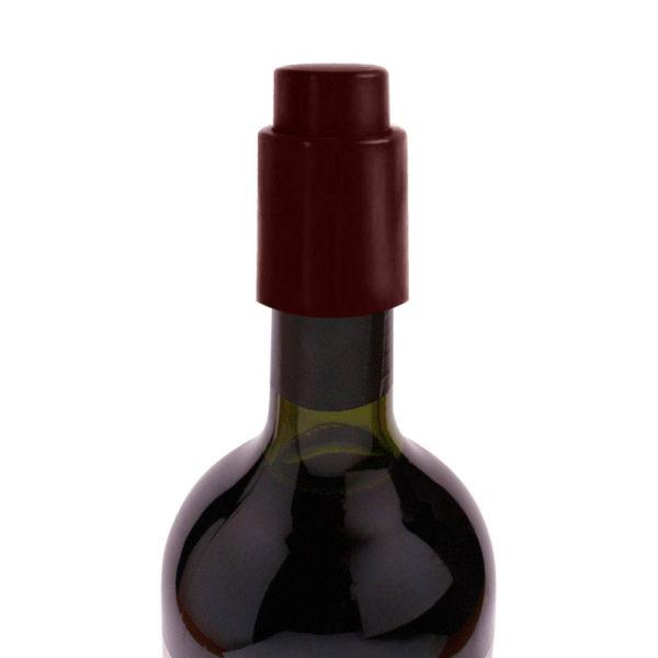 Bouchon coloré vide d'air Bordeaux 02