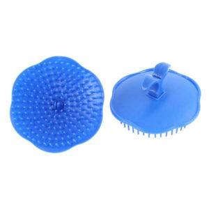 Brosse de massage pour cheveux Bleu 02