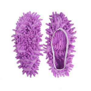 Couvre-chaussures nettoyant Violet 01