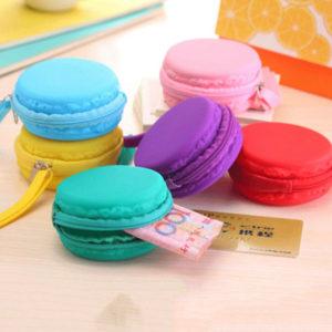 Pochette en silicone Macaron 01