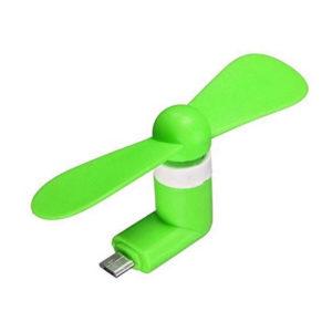 Ventilateur pour Smartphone_Vert 01