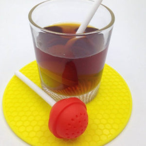 Lollipop Tea infuser | Red