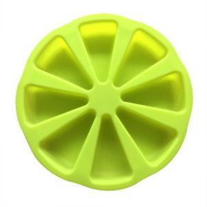 Moule en silicone de parts de gateau Vert 01