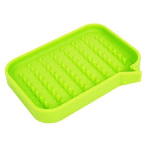 Silicone soap dish Dialogue Box   Green