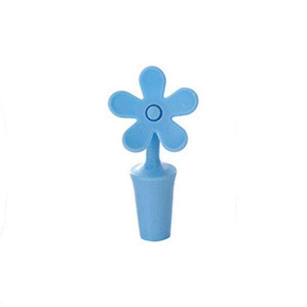 Cadeau-Vin-Bouchon-de-Bouteille-de-Silicone-Fleurs-Bar-Outils-Pr-servation-Bouchons-Vin-Cuisine-Vin_Bleu_01