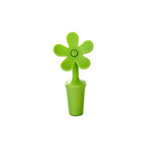 Flower Silicone Stopper | Green