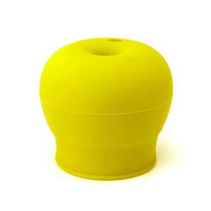 Couvercle de verre silicone - Yellow