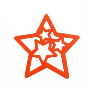 Dessous de plat Étoile Orange 01