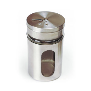 Multifunction dispenser in glass and stainless steel