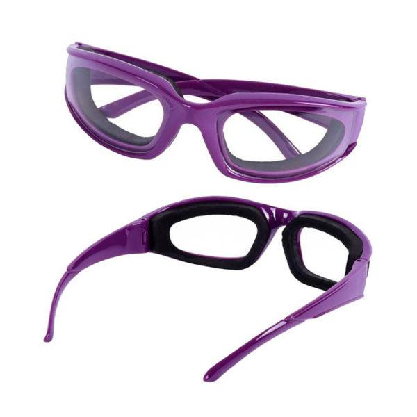 Lunettes pour éplucher les oignons Violet 01