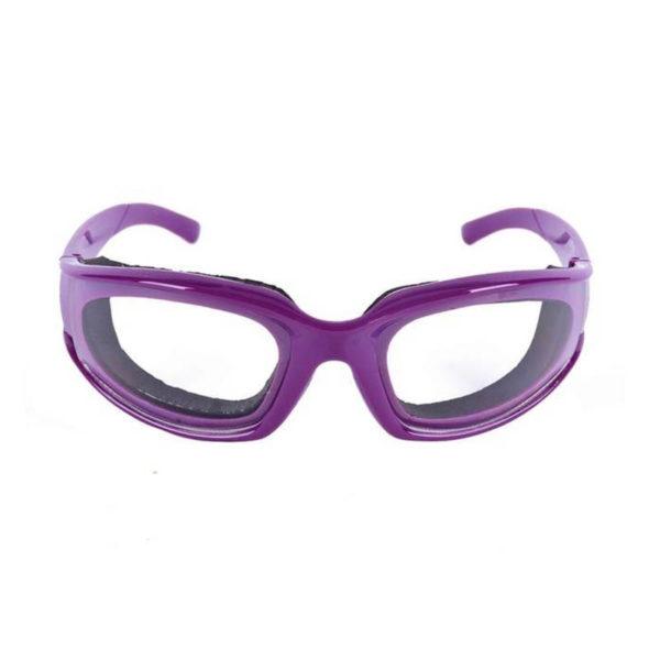 Lunettes pour éplucher les oignons Violet 02
