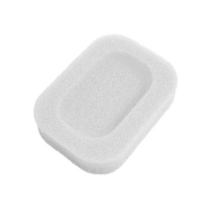 Soap dish Colored sponge | White