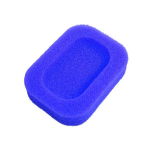 Soap dish Colored sponge | Blue