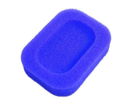 Porte-savon Éponge coloré Bleu 01