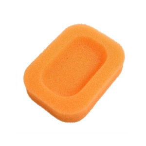 Soap dish Colored sponge | Orange